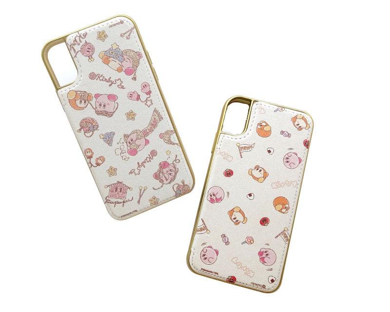 ミラー付きiPhoneケース XS/X(twinkle knit/sunny pupupu picnic)/各2,900円(税別)