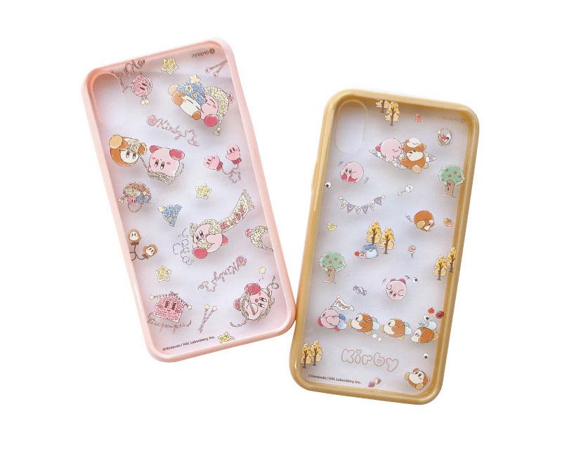 iPhoneケース XR(twinkle knit/sunny pupupu picnic)/2,500円(税別)