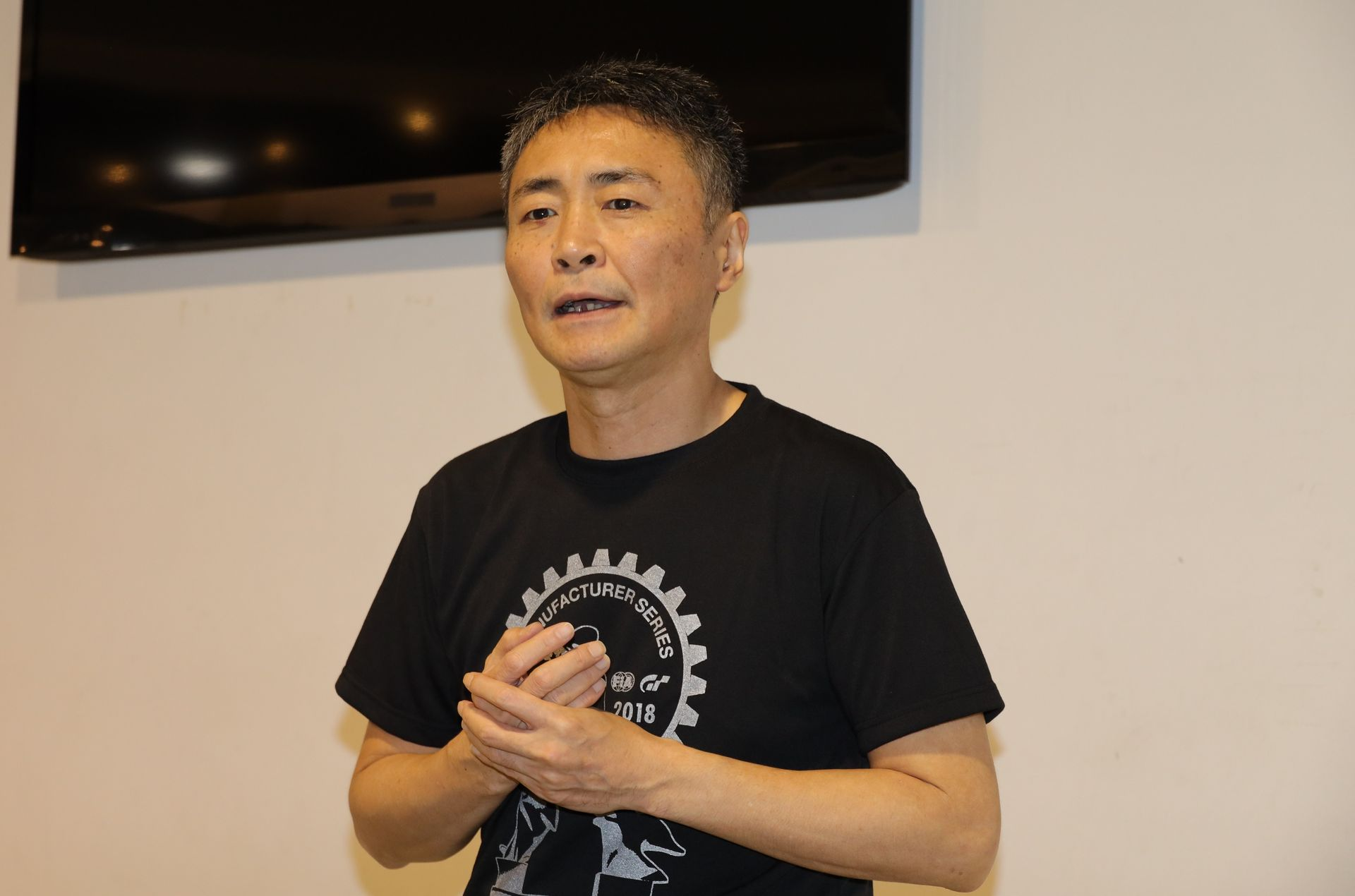 「グランツーリスモSPORT」プロデューサーの山内一典氏