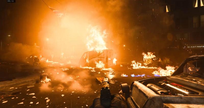 ロンドン、ピカデリースクエアを舞台にしたテロリストとの戦い