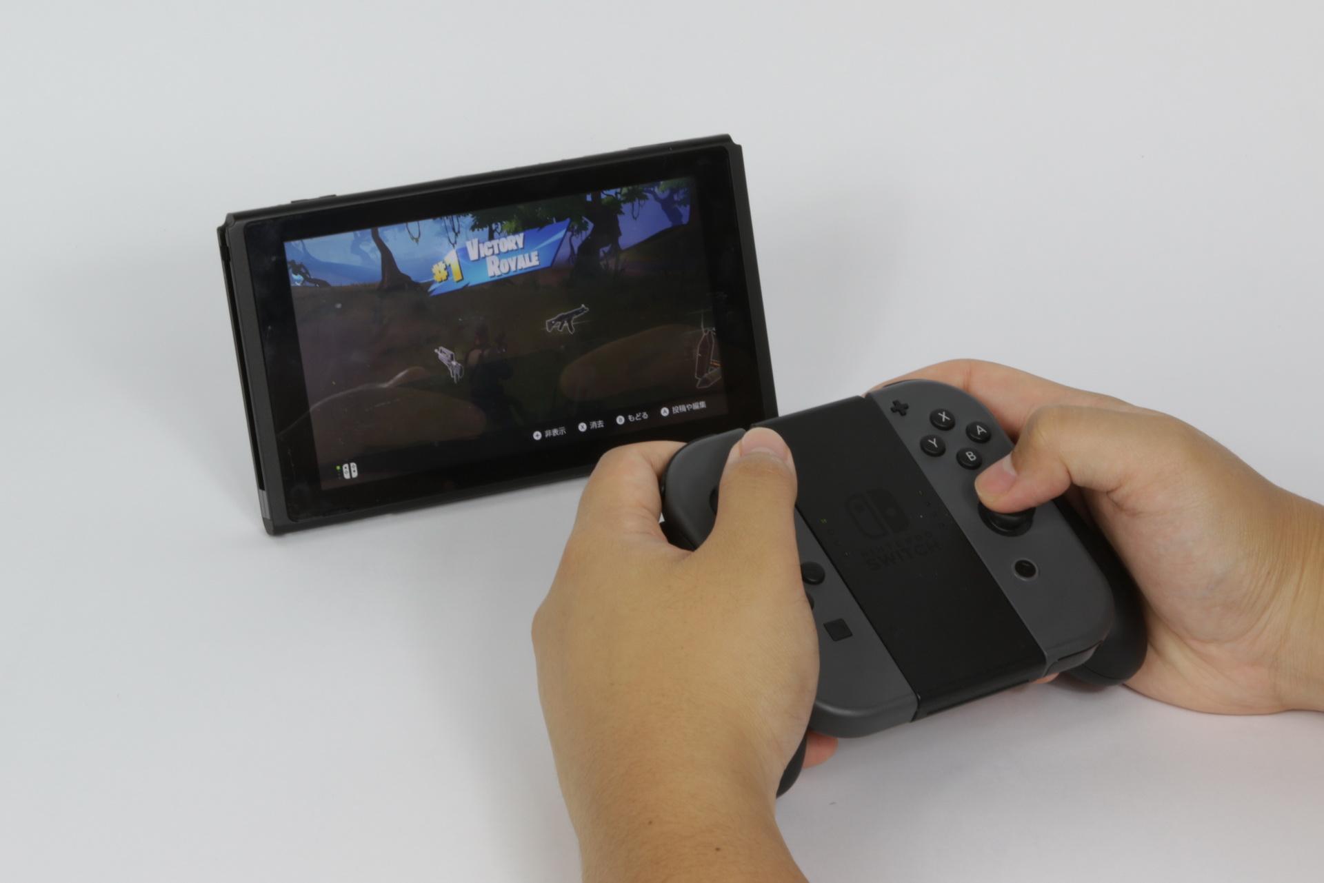 Nintendo Switchでの操作スタイル