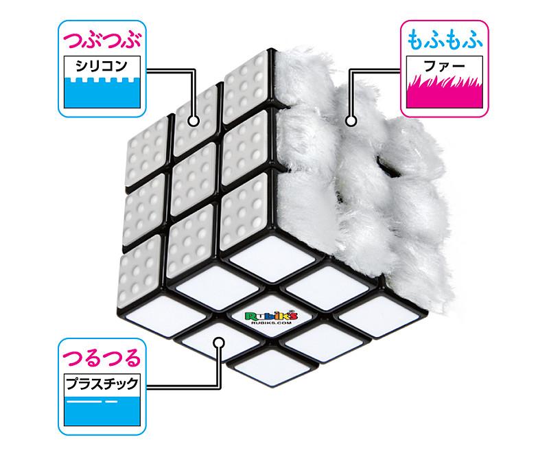 6面はそれぞれ異なる素材