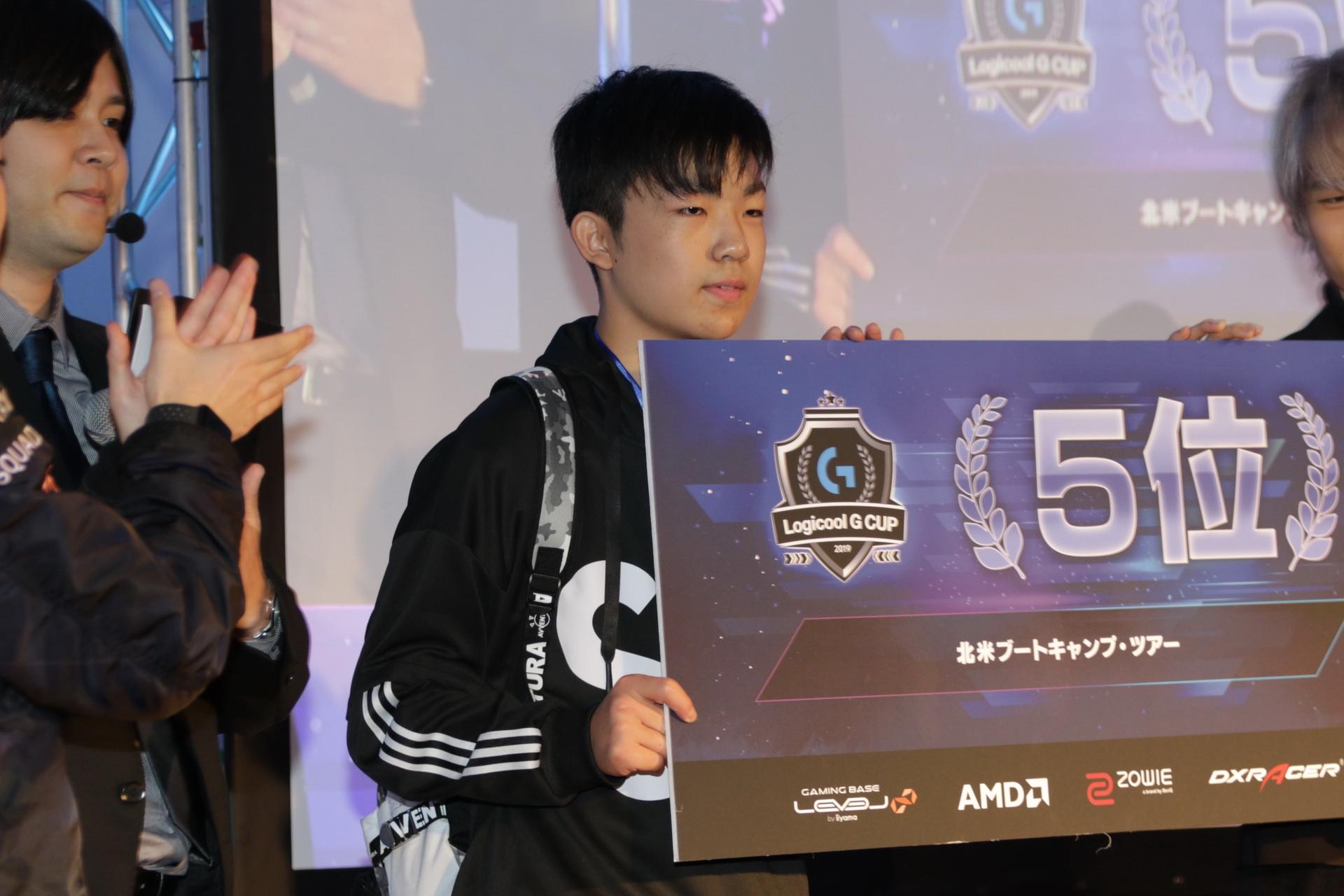 5位のMongraal.jp選手