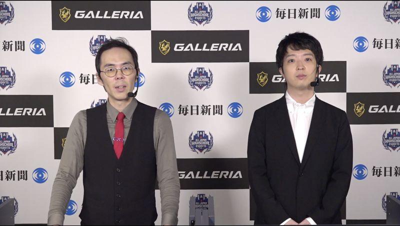 実況解説は、「LoL」日本プロリーグのLJLでもおなじみのeyes氏(左)とRevol氏(右)