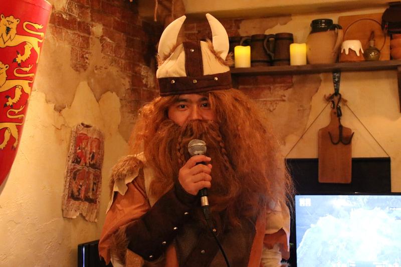 DMM GAMESの「アンセスターズレガシー」プロデューサー早稲田誠氏。並のバイキングより強そう