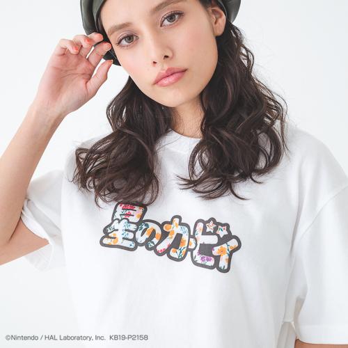 Tシャツ ver.5(星のカービィ)Size:M/L/価格 3,900円(税別)