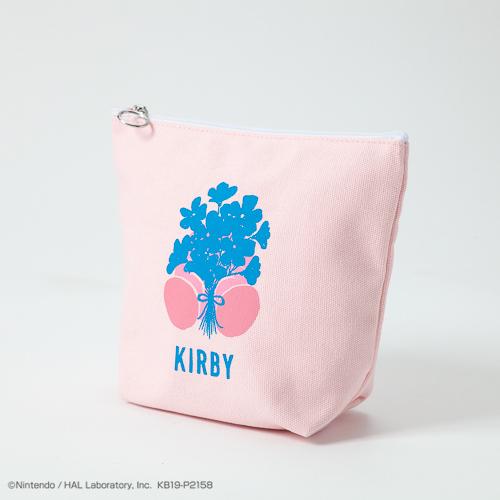 キャンバスポーチ(FLOWER)(PINK)/価格 1,800円(税別)
