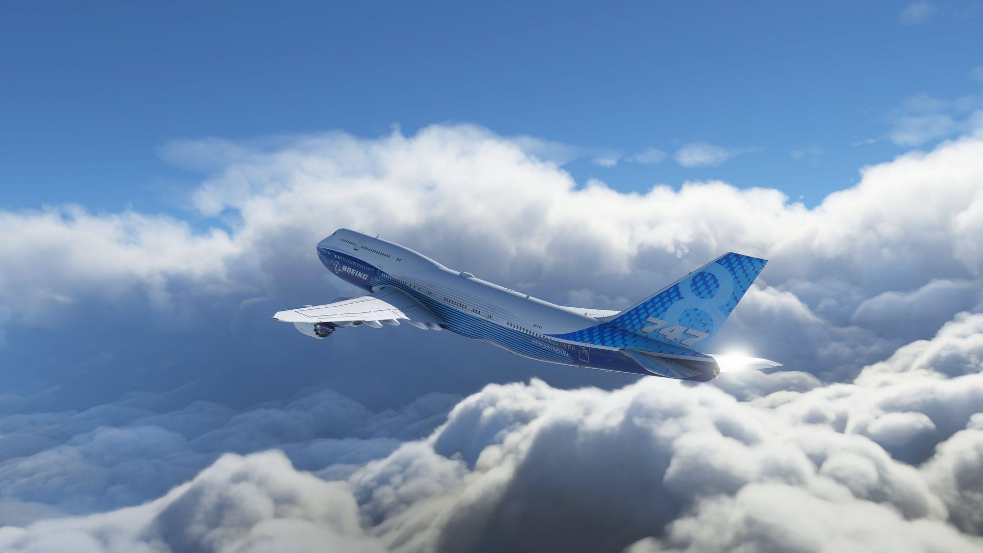 """超弩級のスケールで開発されている新「Flight Simulator」(<a href=""""https://game.watch.impress.co.jp/docs/kikaku/1218956.html"""" class=""""n"""" target=""""_blank"""">参考記事</a>)。BingとAzureによる精細な地表データの再現、風のシミュレーション、雲生成など、Microsoftのテクノロジーが存分に活かされている"""
