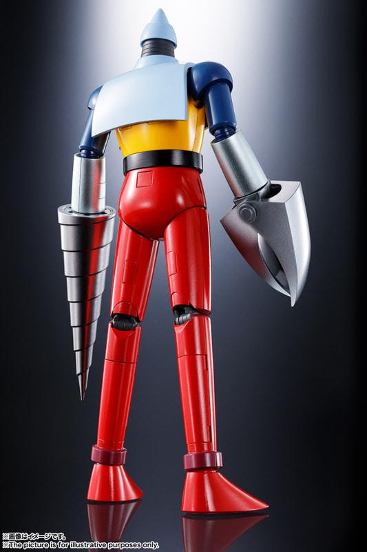 両脚のフィンは、パーツの換装で収納状態も再現できる
