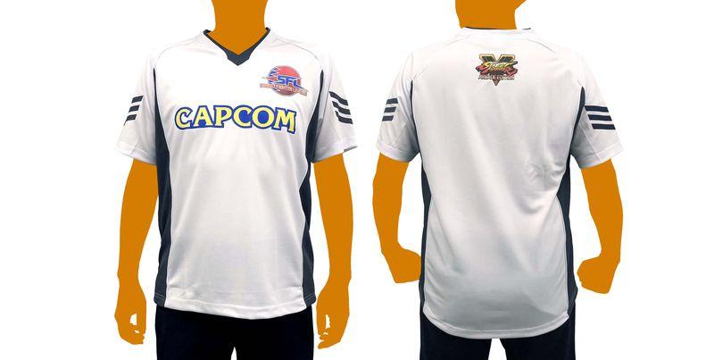 「ストリートファイターリーグeスポーツシャツ(M/L/XL)」