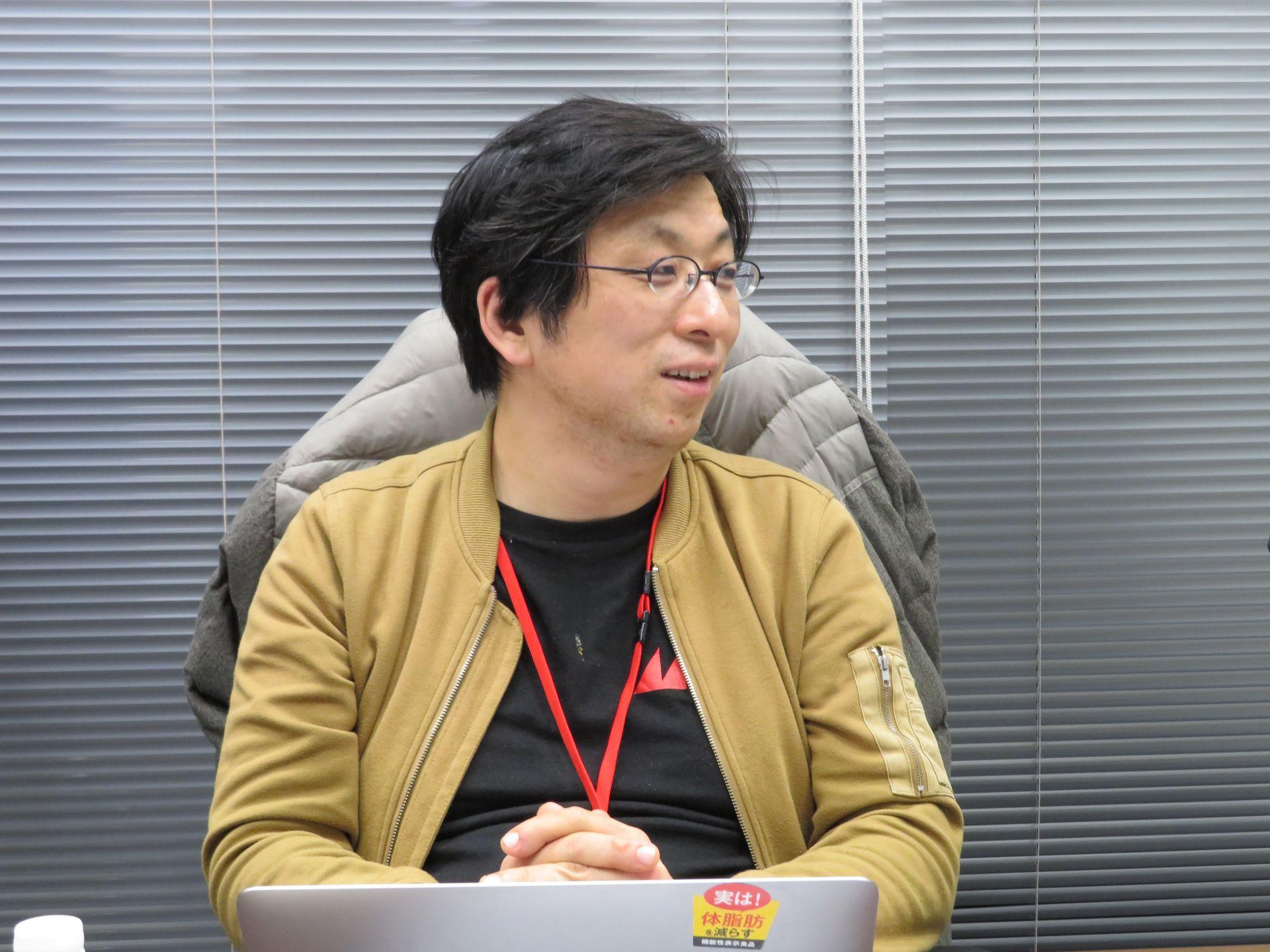エムツー代表取締役社長の堀井直樹氏