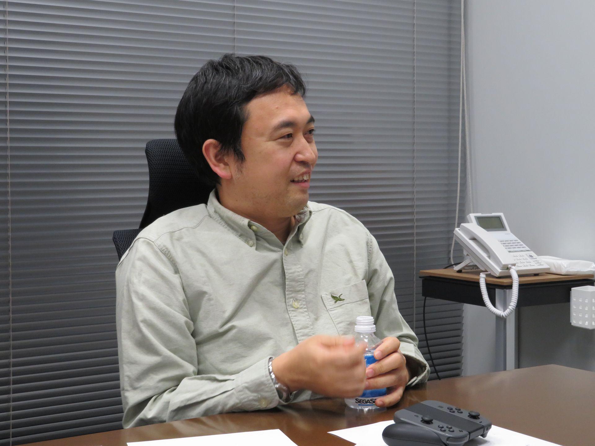 セガゲームスの奥成洋輔氏