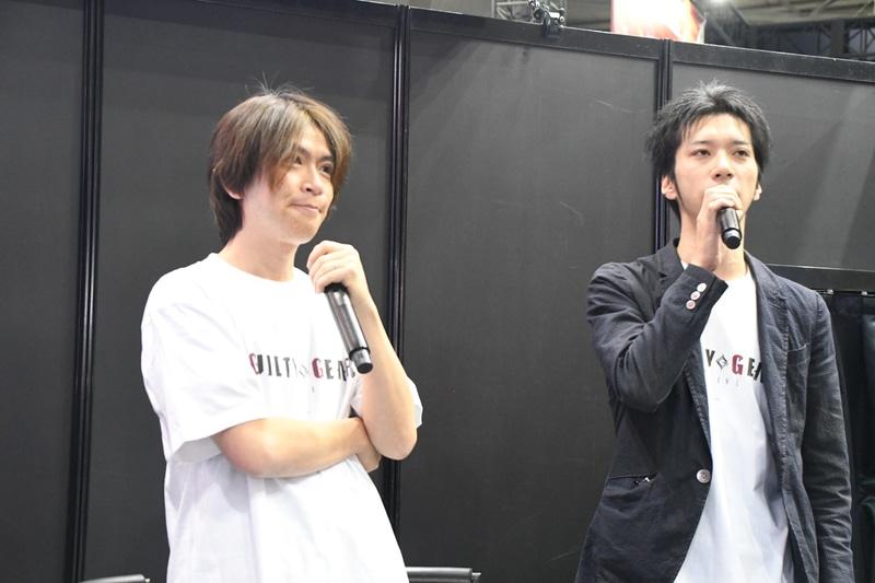 本作の開発メインメンバーである石渡氏と片野氏