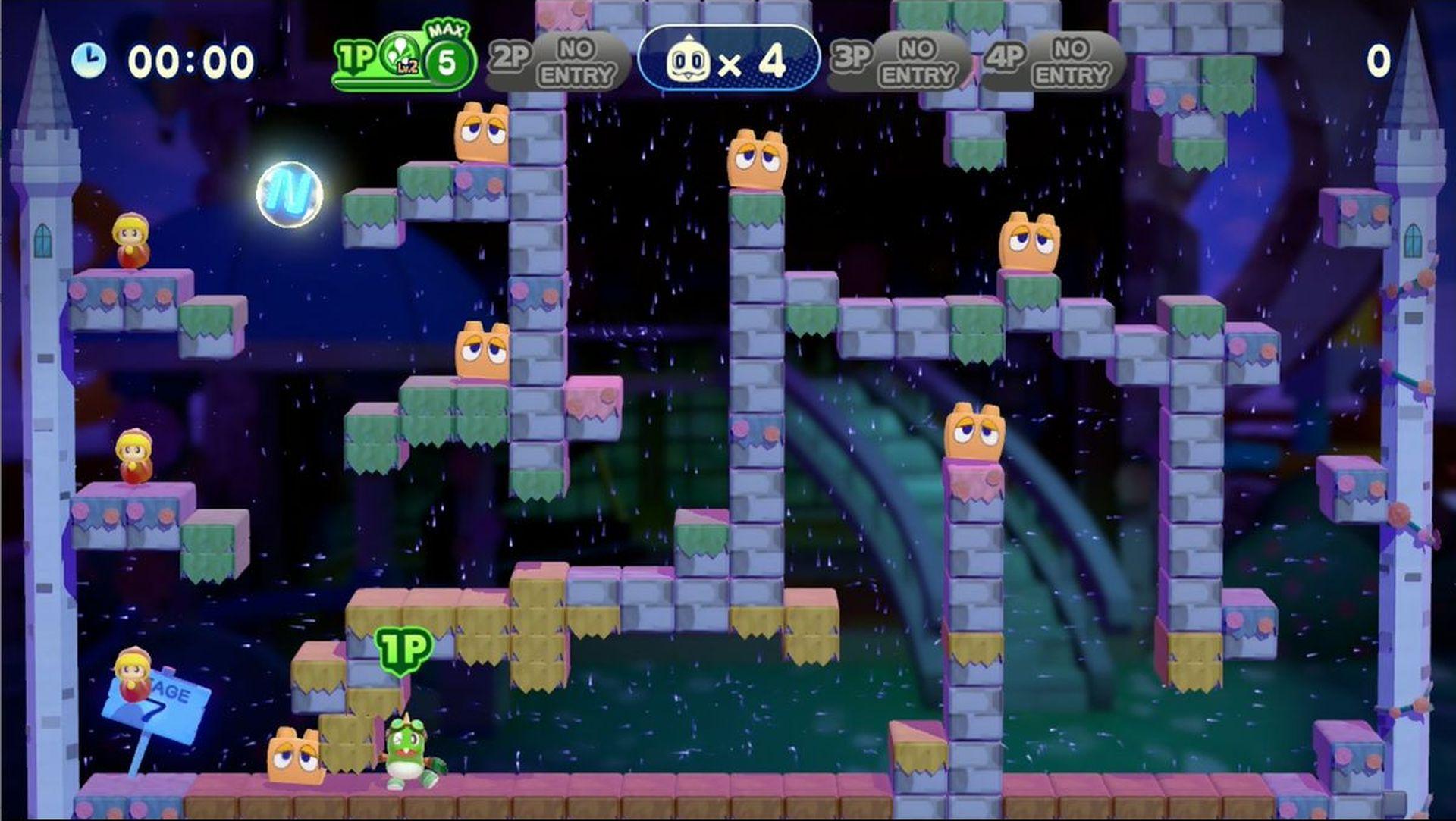 コンティニューすると、ゲームオーバーとなったステージから何度でも再開可能。ただし、一度倒した敵も復活してしまう