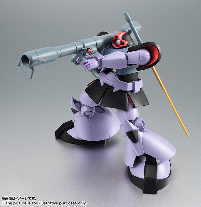 「ROBOT魂 <SIDE MS> MS-09 ドム ver. A.N.I.M.E.」。ドムは重モビルスーツだが、足のホバーユニットで地上を滑るように移動する