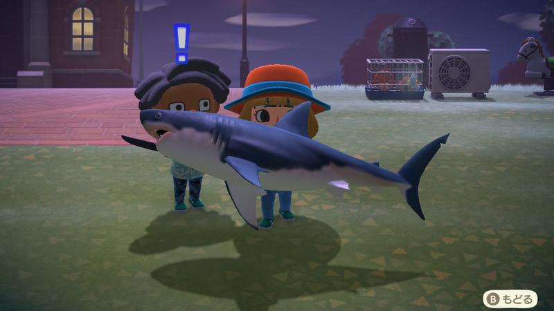 今回筆者は試しに南半球でプレイしてみたのだが、発売日の3月は南半球では秋にあたる。そのためサメなどの高級魚がじゃんじゃん釣れて、効率よくベルを稼ぐことができた!
