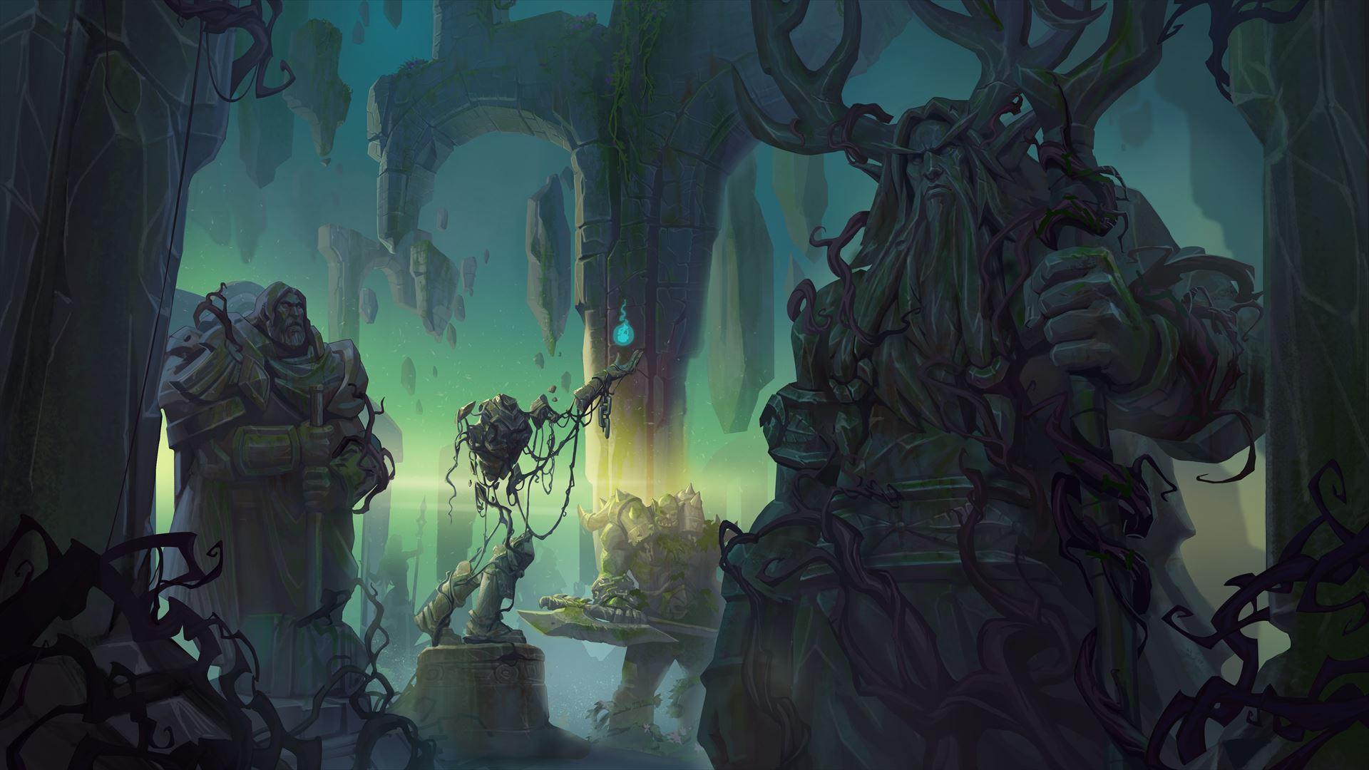 アウトランドは、「World of Warcraft: The Burning Crusade」の戦火によって荒廃している