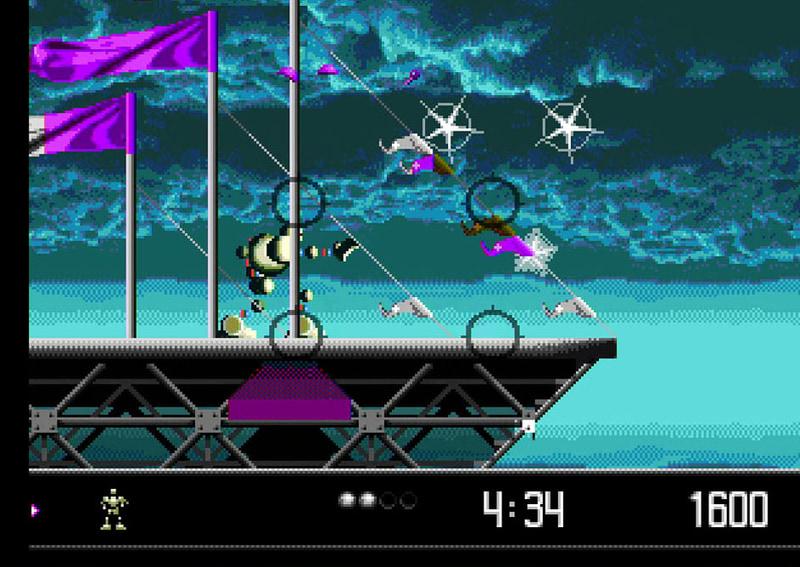 日本未発売のアクションゲーム「ベクターマン」もかなり文化の違いを感じるゲーム