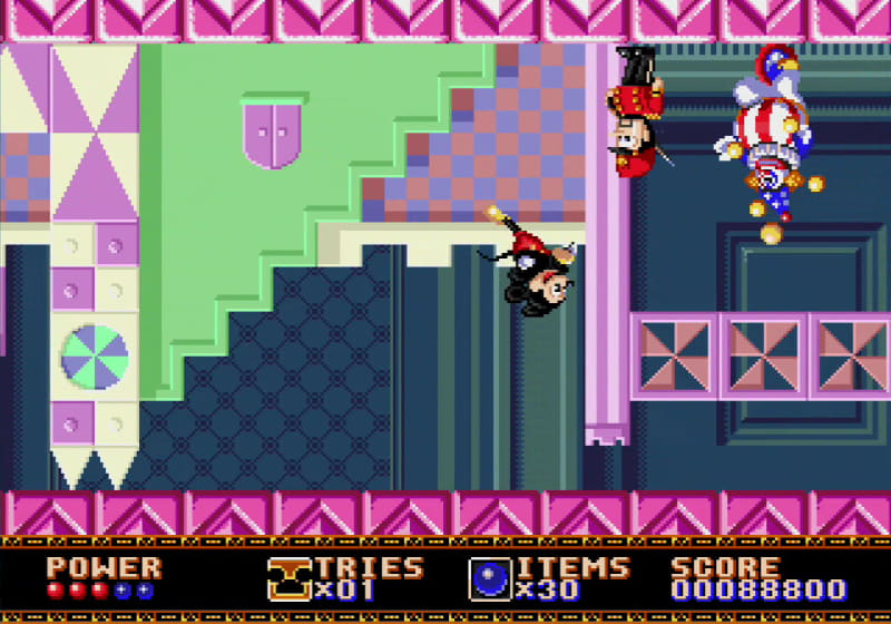 ステージには様々なギミックがあり、ゲームを盛り上げる