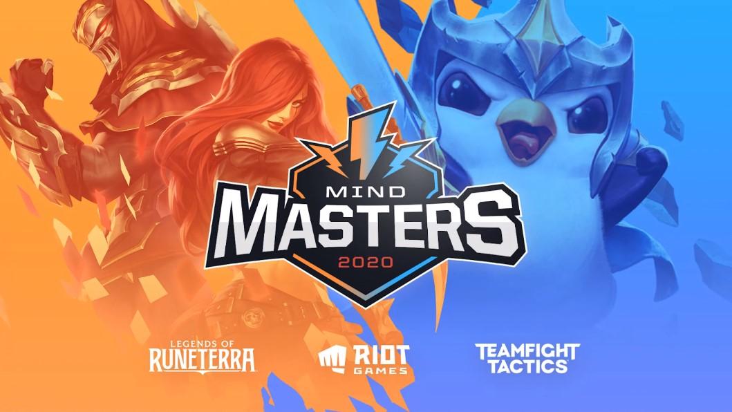 大会名は「MIND MASTERS 2020」。競技タイトルは「TFT」と「LoR」