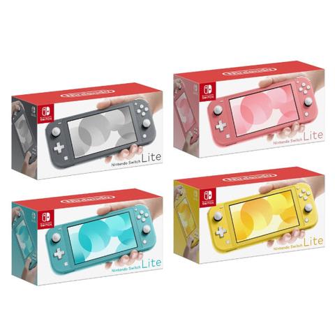 Nintendo Switch Lite 本体(各色)/価格:各19,980円(税別)