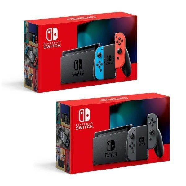 Nintendo Switch グレー、ネオンブルー/ネオンレッド(新モデル)