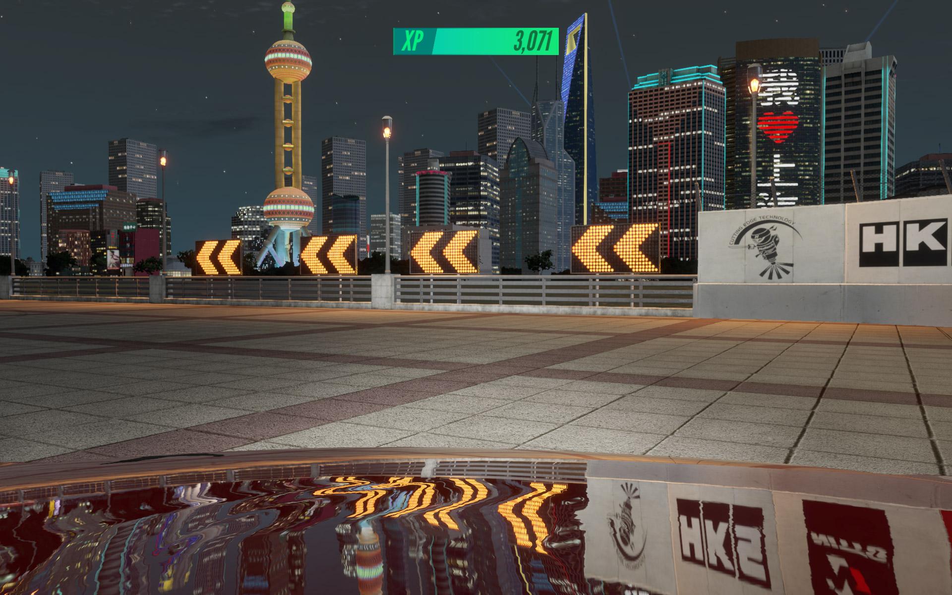 """実際に見てみたい""""夜の上海""""を舞台にレースが展開される"""