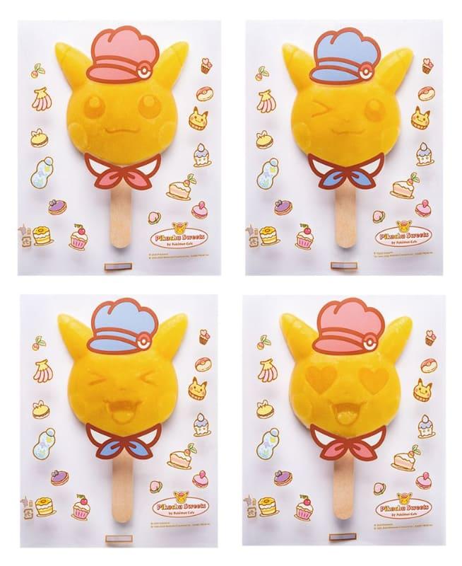 ピカチュウスイーツのお着がえアイスバー ~パインオレンジ味~」650円(税別)