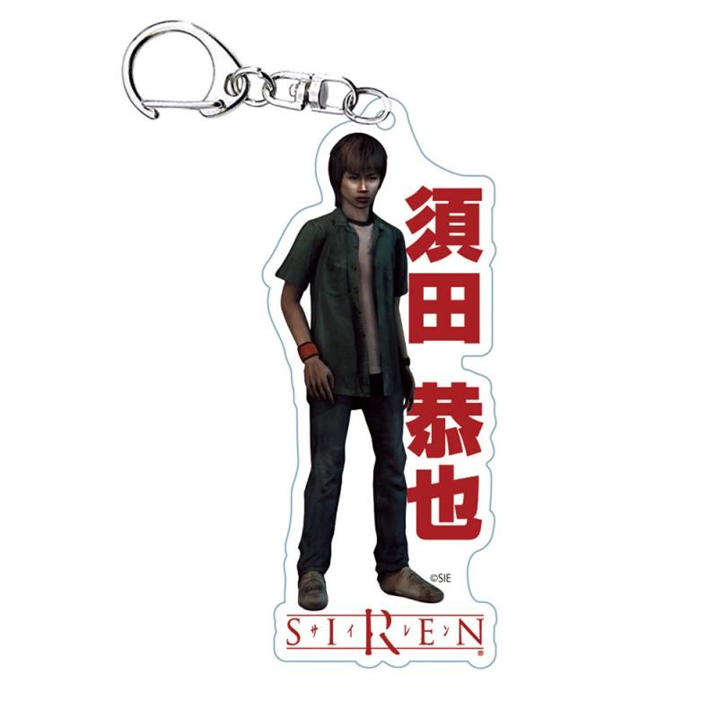 「SIREN/アクリルキーホルダー(須田恭也)」価格:770円(税込)