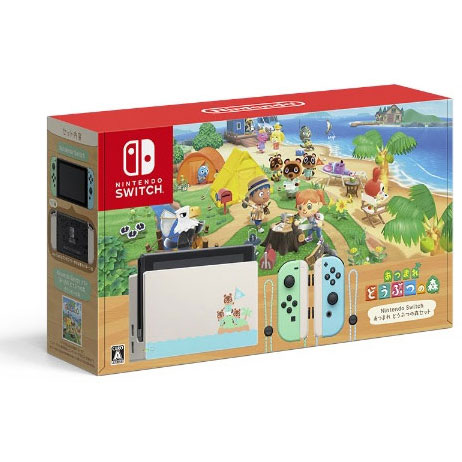 Nintendo Switch あつまれ どうぶつの森セット 39,550円(税込)