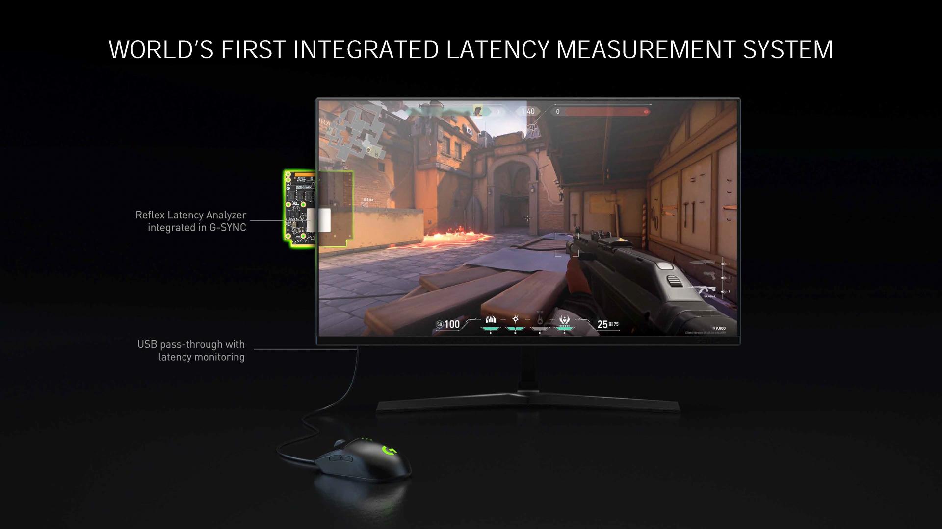 NVIDIA Reflex Latency Analyzer」の基板を組み込んだモニターが今後出荷される