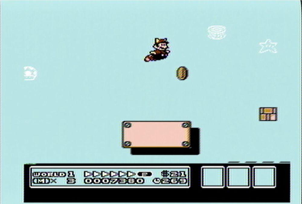 複数のルートを選べるマップ画面が初登場。マリオが大空高く飛び回れるのも実に気持ちよかった