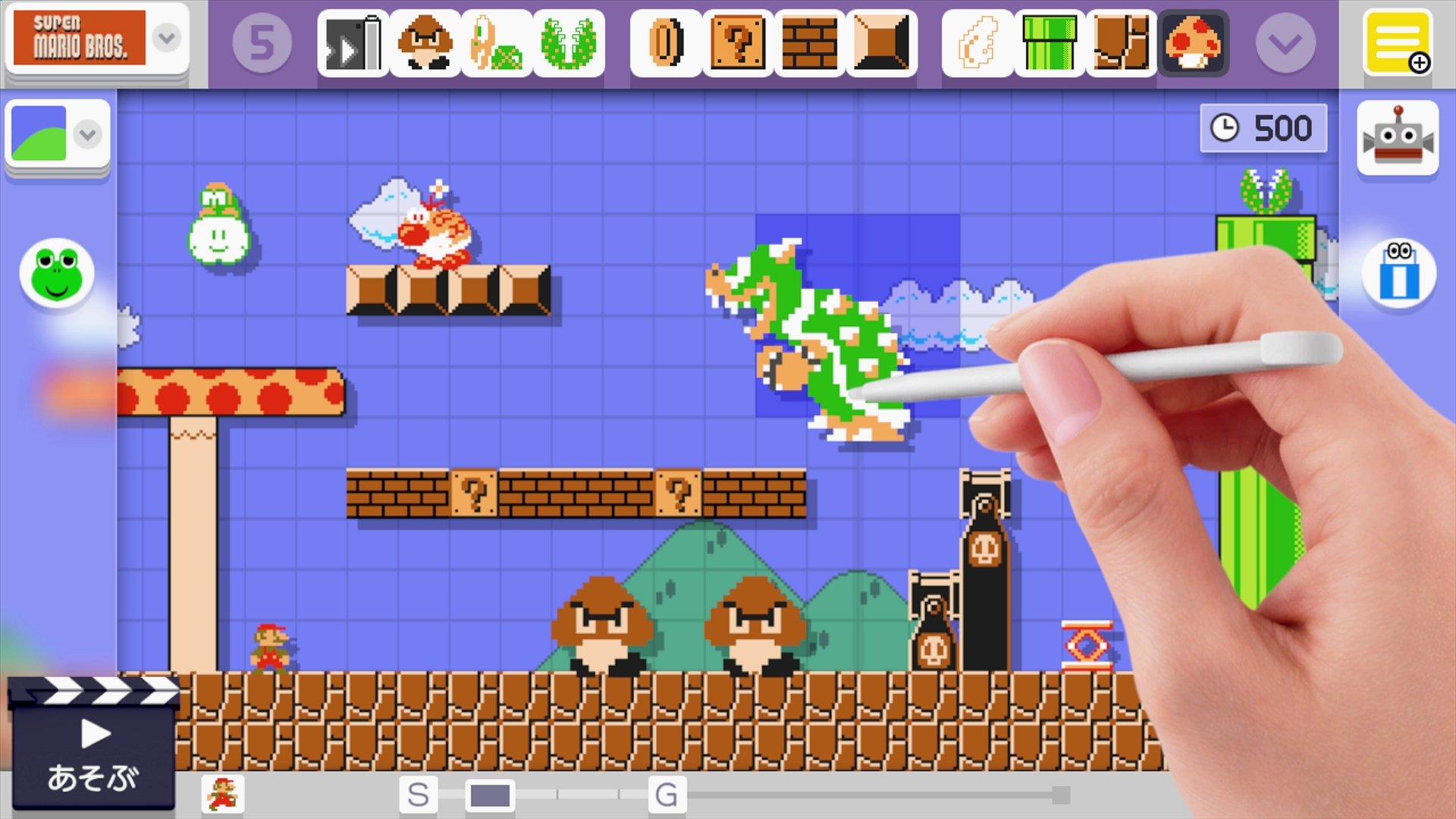 Wii Uのみならず、3DSにも展開された「スーパーマリオメーカー」。「スーパーマリオ」を知らないような若い世代にも2Dアクションの楽しさを気づかせ、ステージを作る楽しさを教えてくれた作品だ