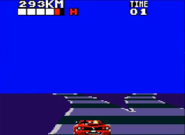 「1プレイヤーゲーム」モードは、アーケード版と同様にステージ終盤でコースが左右に分岐する