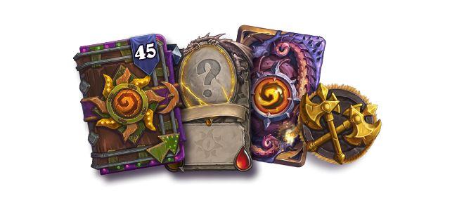「バンドル」には、カードパック45個とランダムなレジェンドカード(ゴールデンではない)1枚、カード裏面デザイン「ン=ゾス」、新ゲームモード「デュエル」の早期アクセス権が含まれる