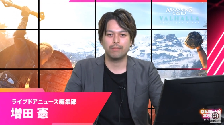 「げーむさんぽ」にてゲームの操作を担当したライブドアニュース編集部の増田 憲氏