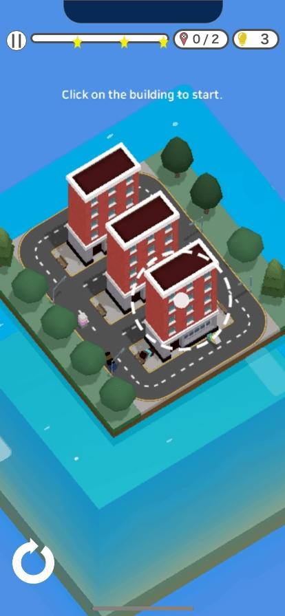 """ゲームリノベーション事業で次なるタイトルとして現在開発中の「ドミノシティ」。建物を使って「ドミノ倒し」を楽しむという内容で、<a href=""""https://events.withgoogle.com/indie-games-festival-korea/top-20/"""" class=""""n"""">INDIE GAMES FESTIVAL 2020 KOREA でベスト20に選出されている</a>"""