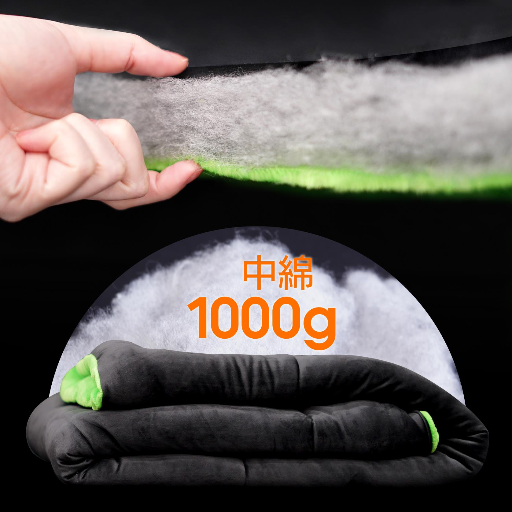 中綿たっぷり1000g
