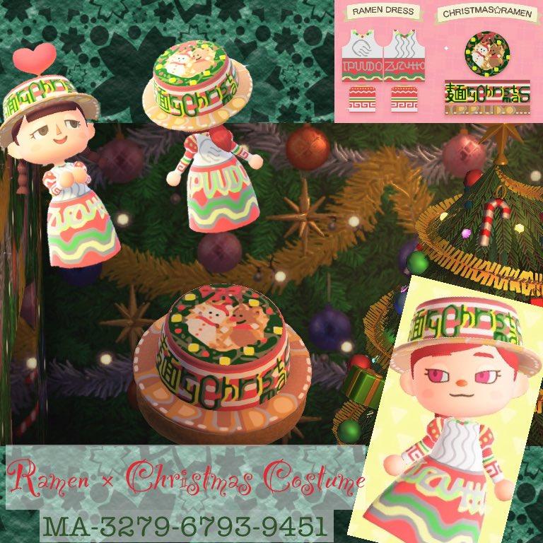 「ラーメン×クリスマス」コスチューム