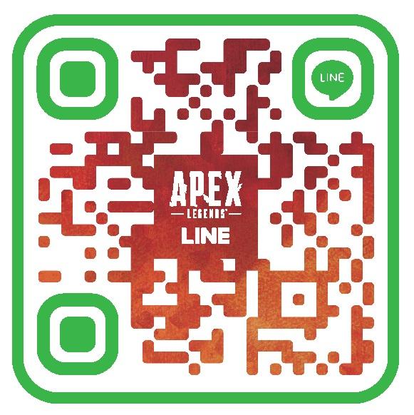 「Apex Legends」公式LINEアカウント QRコード