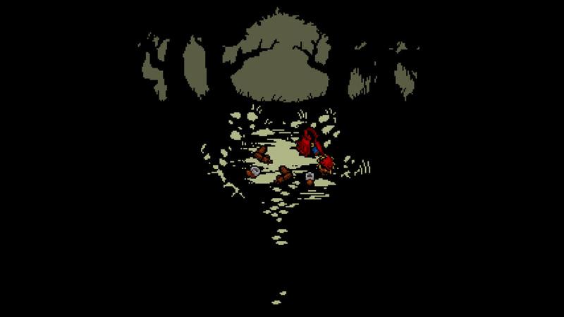 なぜかバラバラな状態のまま森で寝ている主人公
