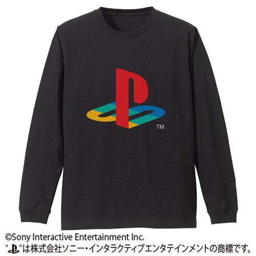 """袖リブロングスリーブTシャツ 初代""""PlayStation""""/BLACK-(M/L/XL)価格:3,900円(税別)"""