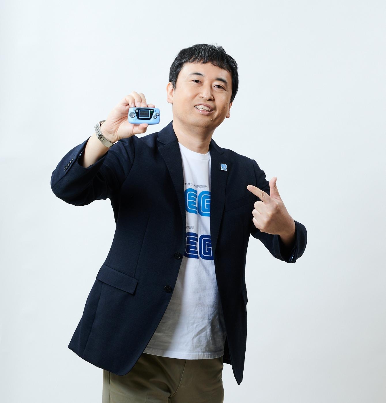 セガの奥成洋輔氏(社歴:27年)