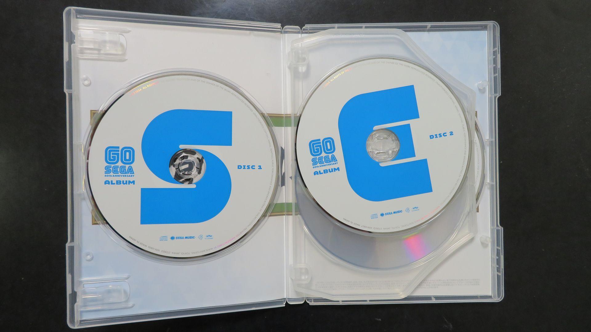 CDには、それぞれ「S」、「E」、「G」、「A」と大きく描かれている