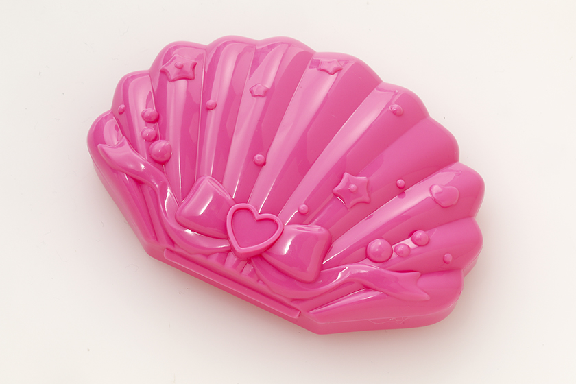 貝殻の形をしたパレット