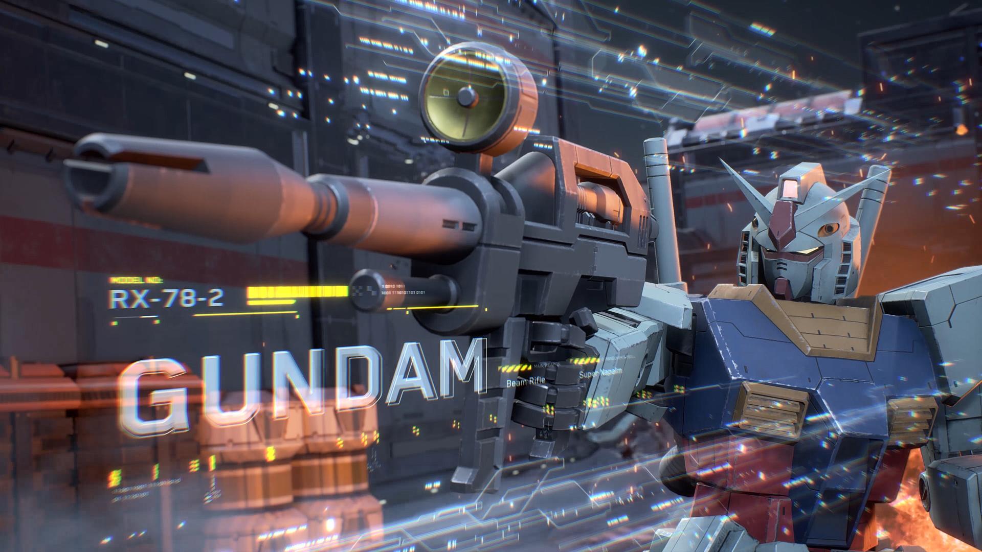 「機動戦士ガンダム」より定番のRX-78-2ガンダム