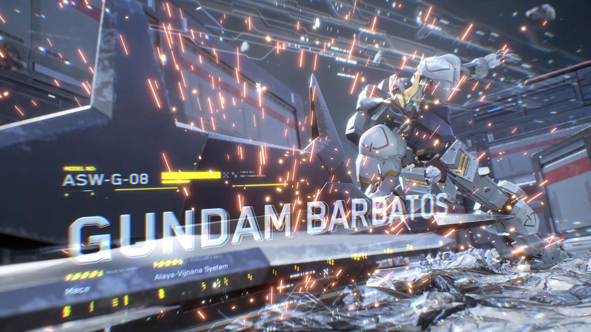 ガンダム・バルバトスはメインウェポンのメイスや太刀を用いた強力な近接攻撃が得意な機体