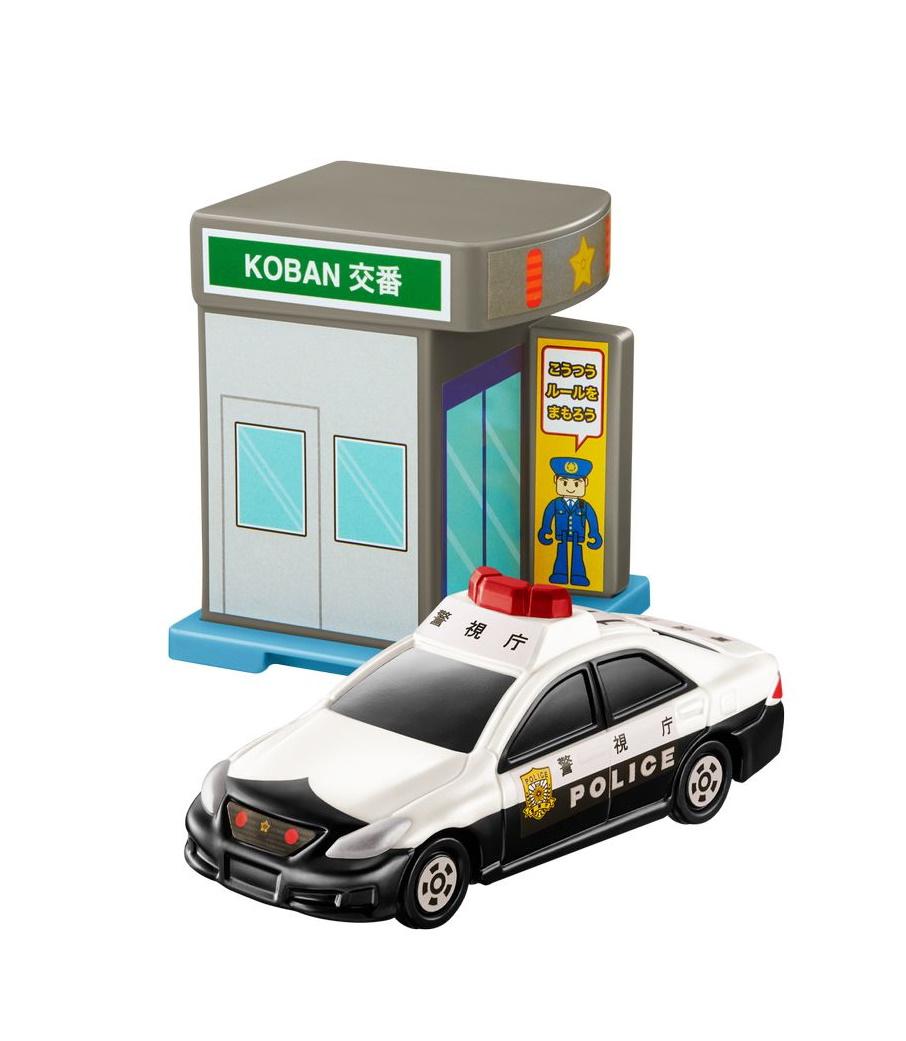 交番&トヨタ クラウン パトロールカー
