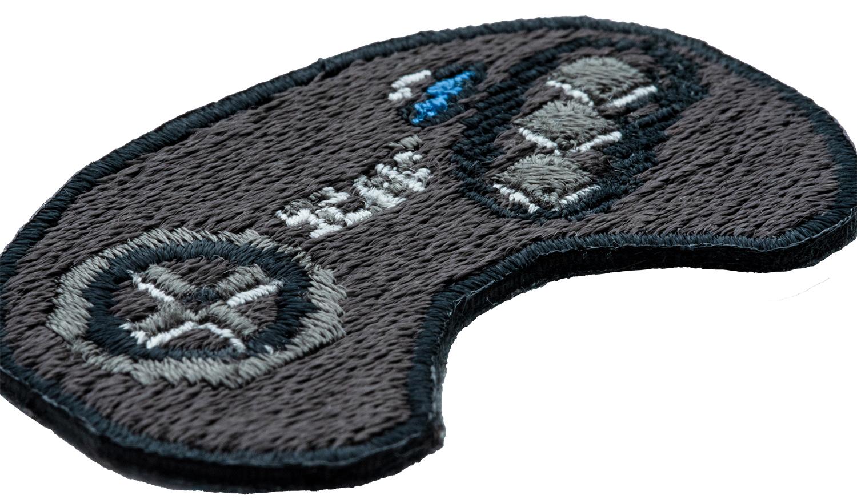 セガハードウェア 2way刺繍ワッペン<メガドライブ コントローラー>
