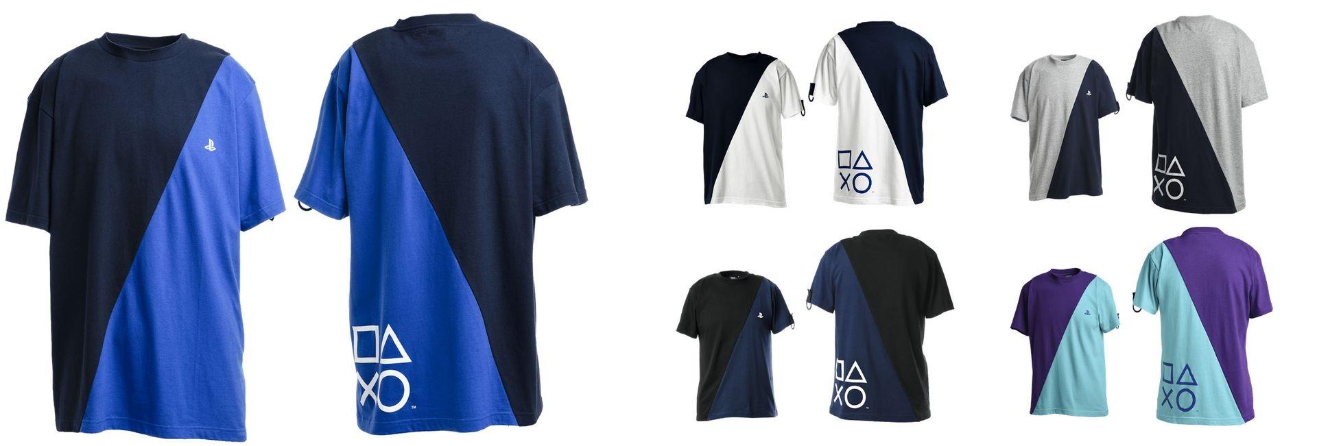 リメイク加工 TシャツB / PlayStation
